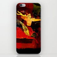boxing iPhone & iPod Skins featuring Boxing Sagittarius by Genco Demirer