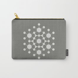 flower of life, alien crop circle, sacred geometry Carry-All Pouch