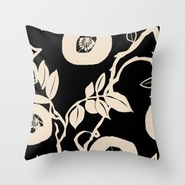 trailing vine Throw Pillow
