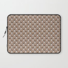 Boxer Dog Pattern Laptop Sleeve