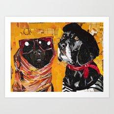 Kentucky & Rodney Art Print