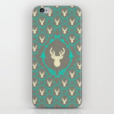 Oh Deer (white) iPhone & iPod Skin