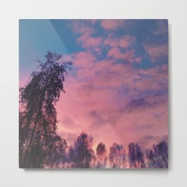 #pink Metal Print