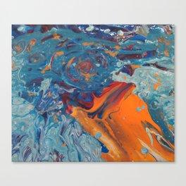 Fluid Art Canvas Print
