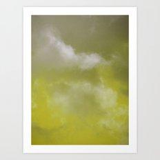 Grace yellow version Art Print