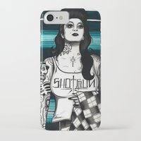 gangster iPhone & iPod Cases featuring gangster by frankcaponefelix