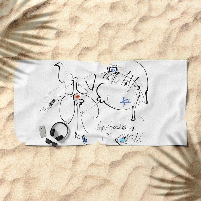 haritsadee 14 Beach Towel