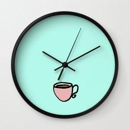 The Coffee Cup II Wall Clock