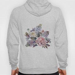 Watercolor Bouquet Hoody