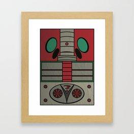 Kamen Rider V3 Framed Art Print