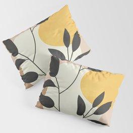 Minimalist Boho Plant Pillow Sham