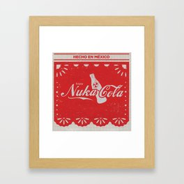 An Ice Cold Nuka Cola - Fallout Universe Framed Art Print