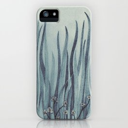 Green-Blue Grass iPhone Case