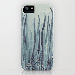 Green-Blue Grass iPhone Case