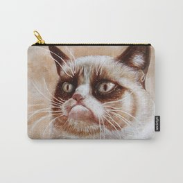 Grumpycat Carry-All Pouch