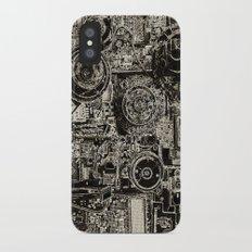 Electric Maze iPhone X Slim Case