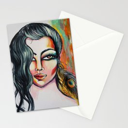 Paon lady Stationery Cards