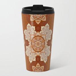 African Floral Mandela Travel Mug