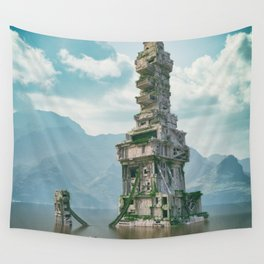 Lost in Time Wall Tapestry