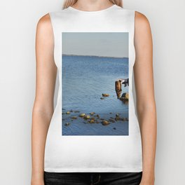Sea Glass Biker Tank