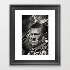 Dakota chief Framed Art Print