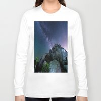 30 rock Long Sleeve T-shirts featuring Milky Way Rock by 2sweet4words Designs