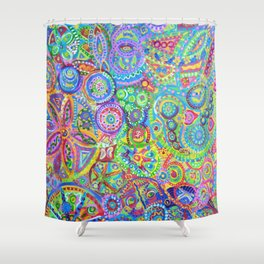 Memories of Wivenhoe I Shower Curtain