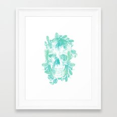Tropical Skull Framed Art Print