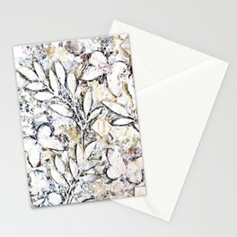 Butterflies - White Stationery Cards