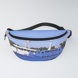 Front Of Gambling Ship Fanny Pack