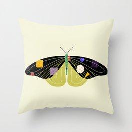 Green Butterfly Deko-Kissen