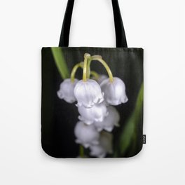 Lily of the valley close up Tote Bag