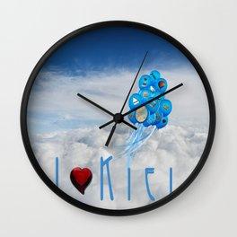 I love Kiel Wall Clock