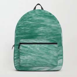 Seafoam Fur Backpack