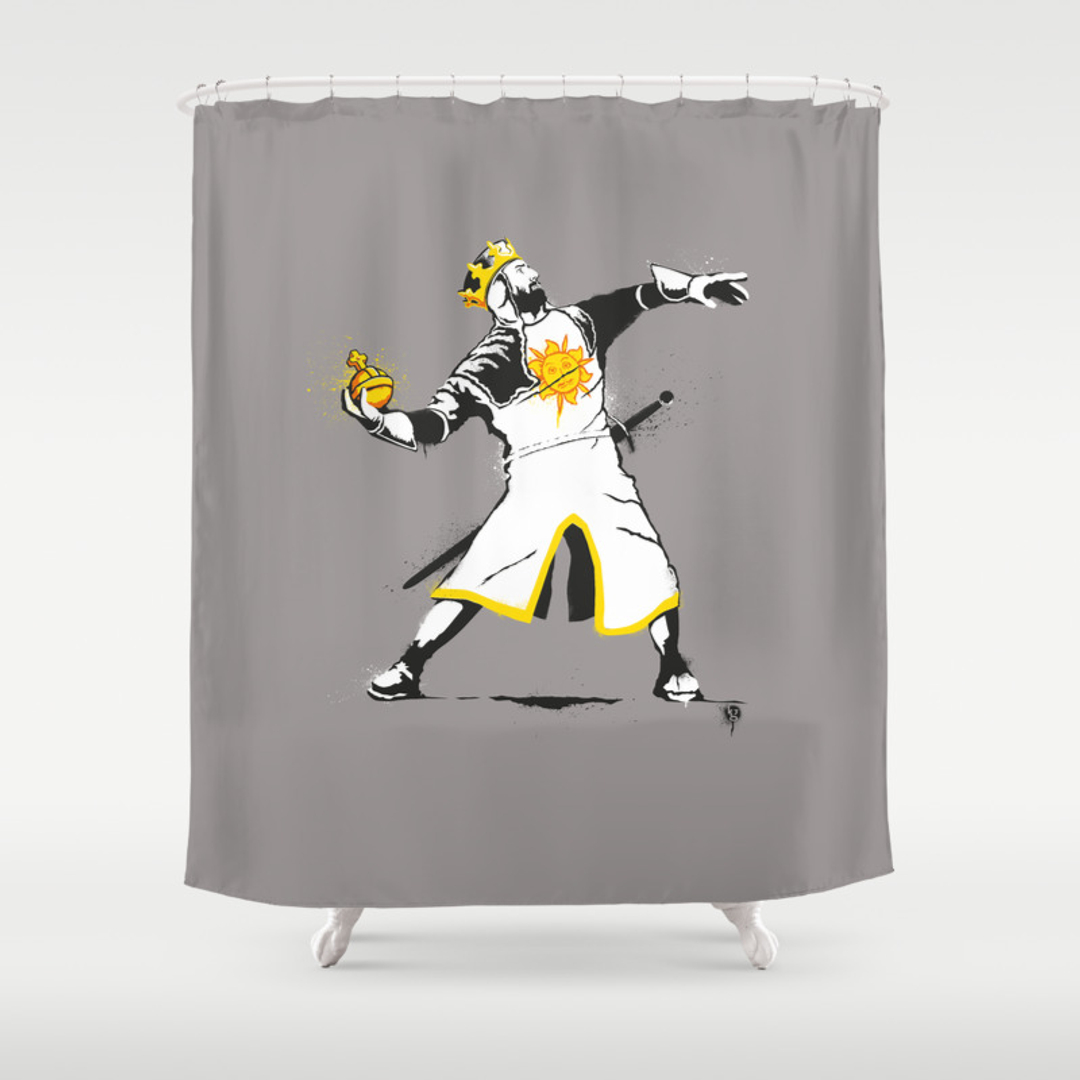 Humor Ilration And S Tv Shower Curtains Society6