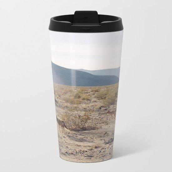 Panamint Valley Coyotes Metal Travel Mug