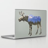 moose Laptop & iPad Skins featuring MOOSE by Outdoor Bro