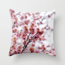 The First Bloom Throw Pillow