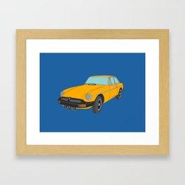 Classic MG Automobile Framed Art Print