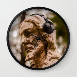 Jesus rocks (out) Wall Clock