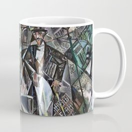 Broadway, New York by David Davidovich Burliuk Coffee Mug