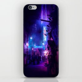 Tokyo Nights / Midnight City / Liam Wong iPhone Skin