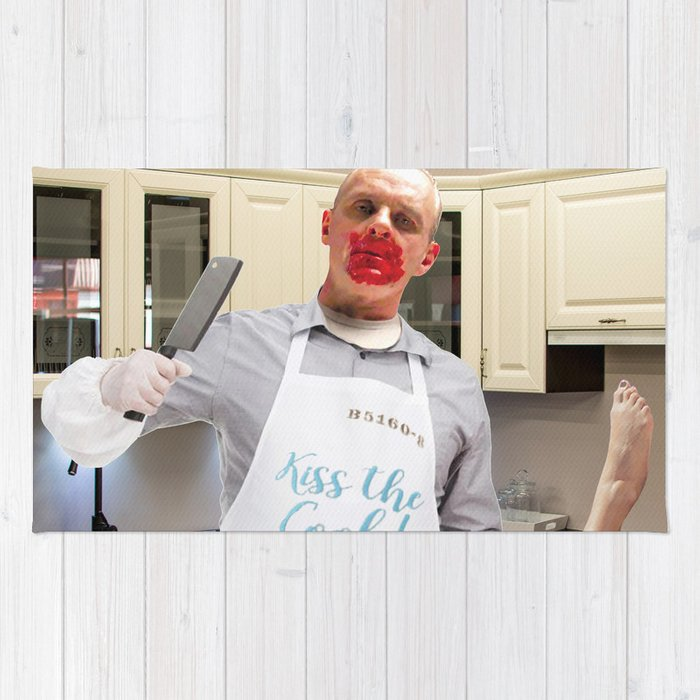 Kiss the Cook. Rug