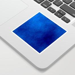 Misty Deep Blue Sticker