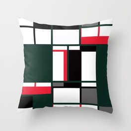Strict geometry 2 Throw Pillow