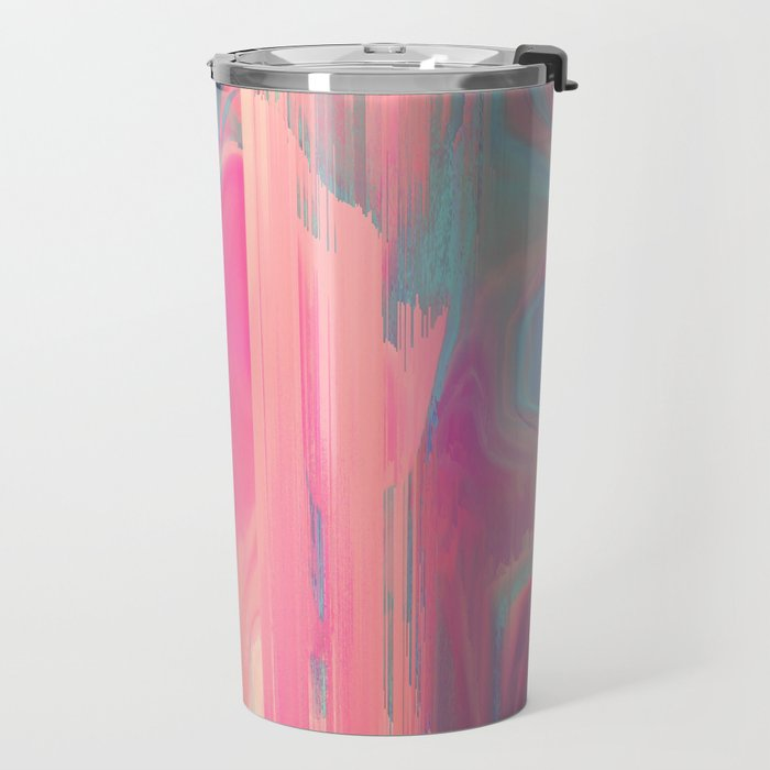 Simply Glitches Travel Mug