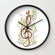 Song birds Wall Clock