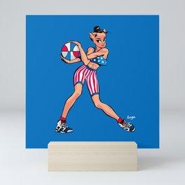 CoolNoodle USA Olympic Mini Art Print