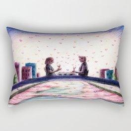 Hazel and Gus TFIOS Rectangular Pillow