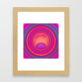 Tired eye ... Framed Art Print